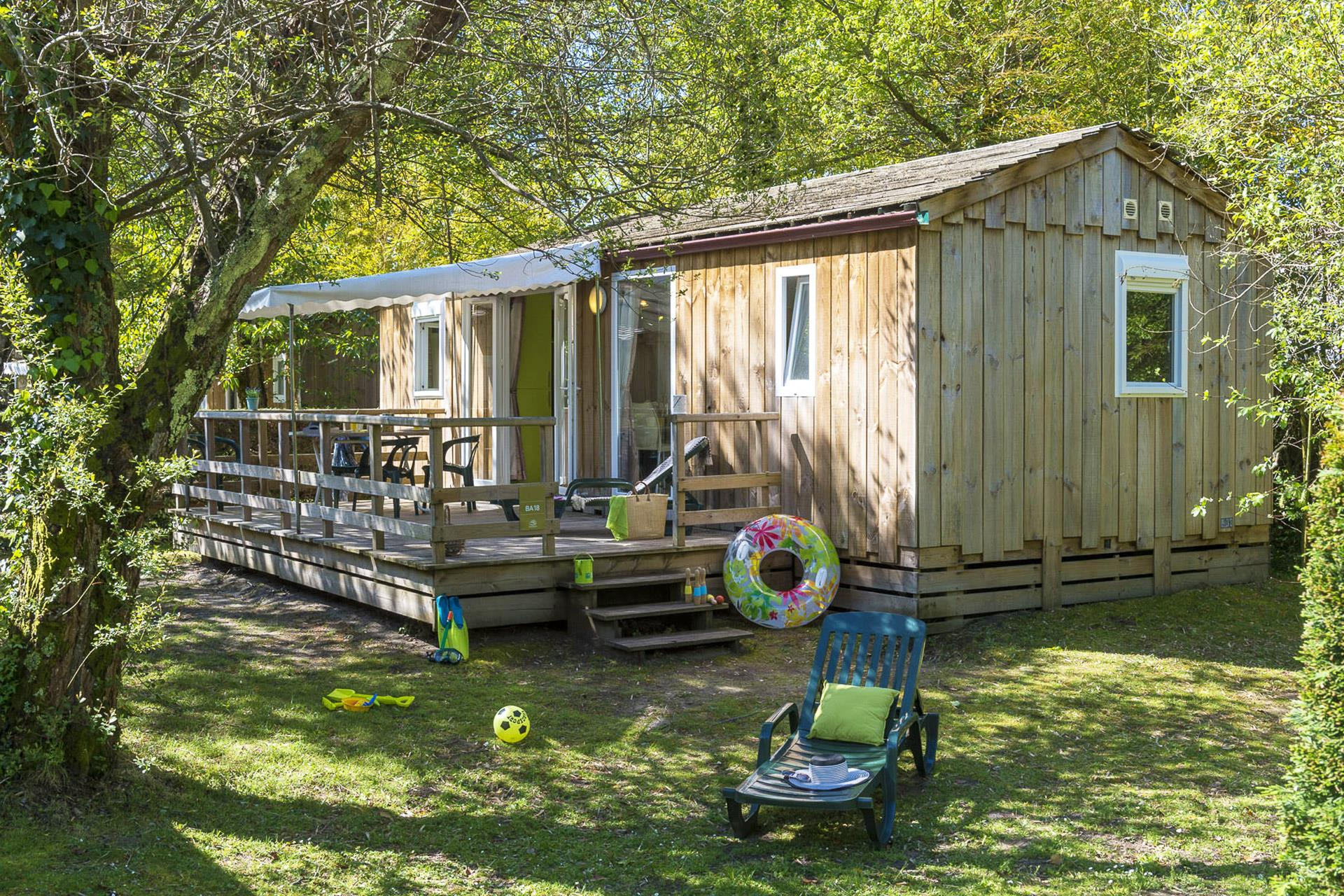 Location - Cottage 3 Chambres**** - Camping Sandaya Le Col Vert