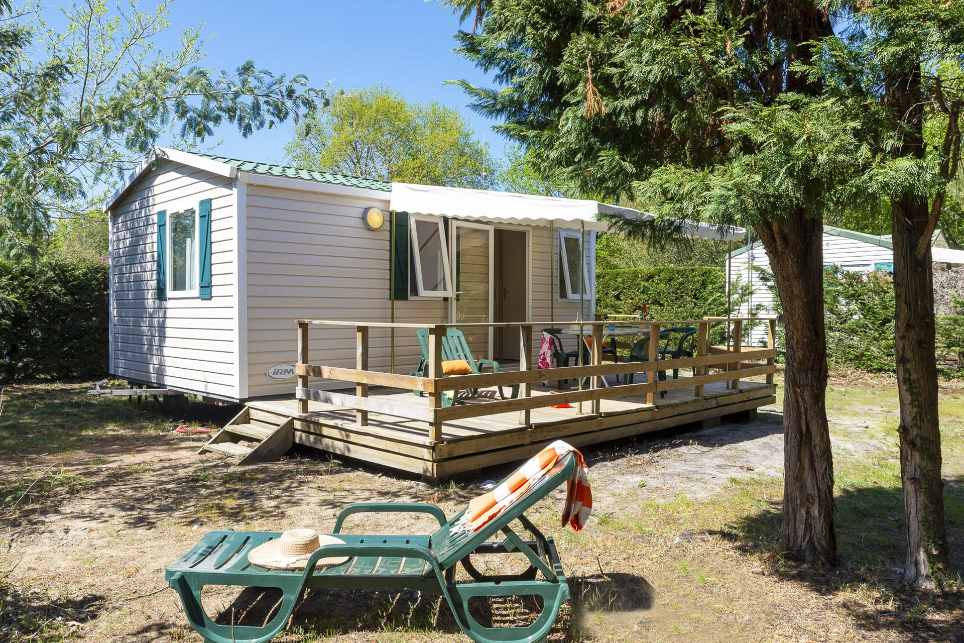 Location - Cottage 2 Chambres** - Camping Sandaya Le Col Vert