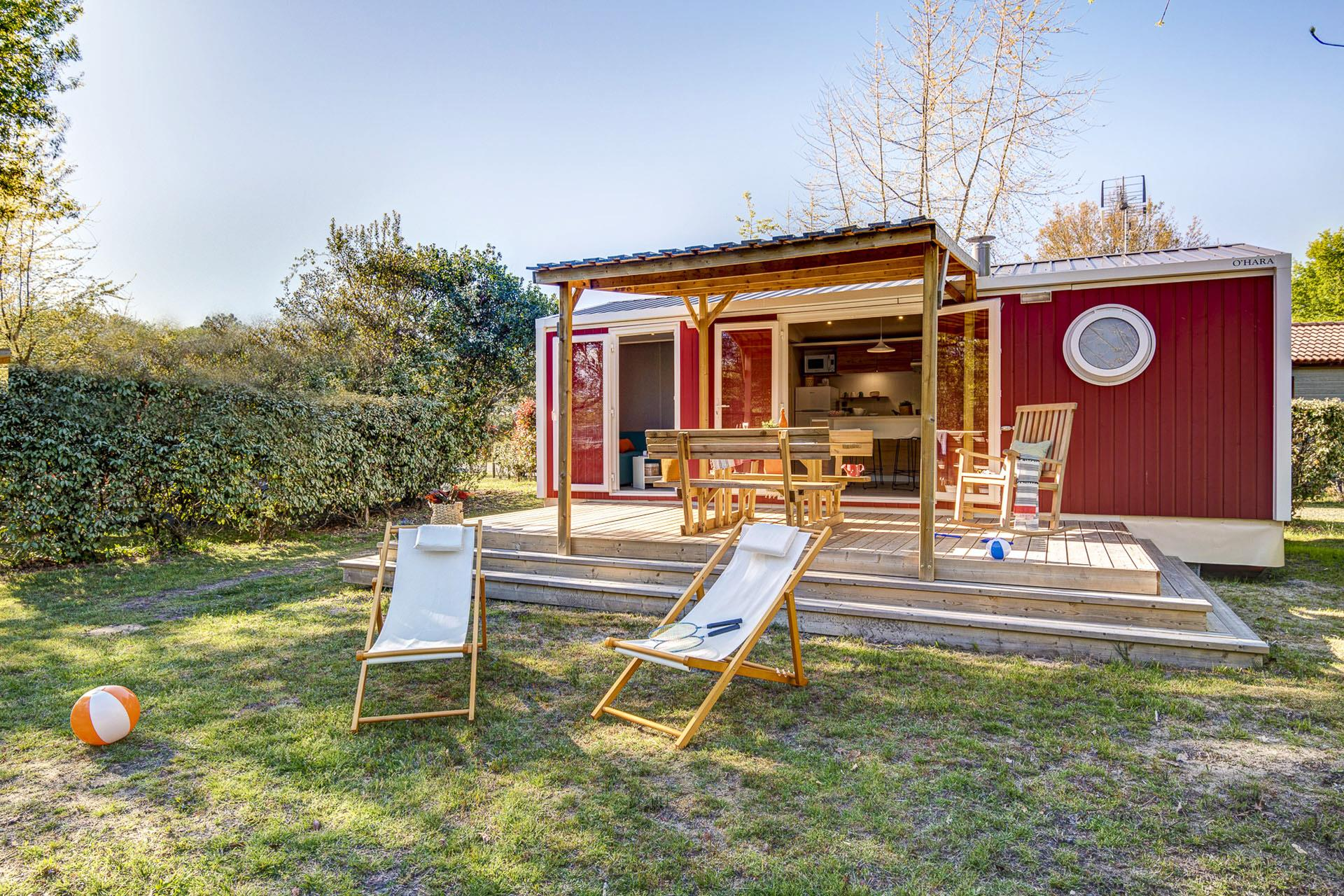 Location - Cottage Colors 2 Chambres *** - Camping Sandaya Le Col Vert