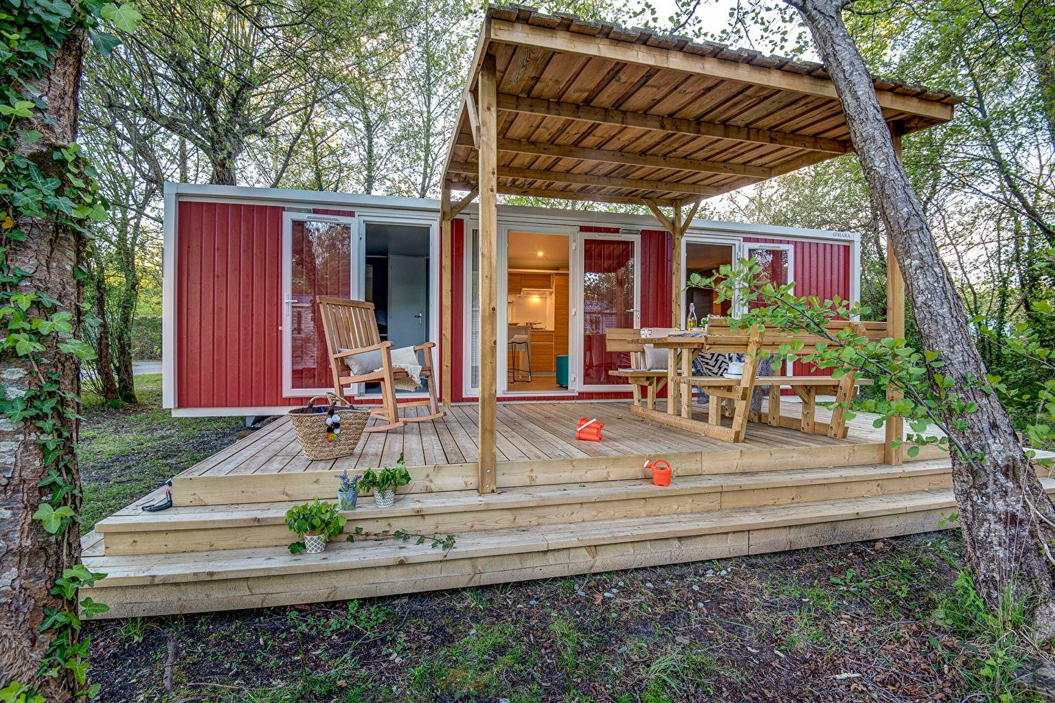 Location - Cottage Colors 2 Chambres **** - Camping Sandaya Le Col Vert