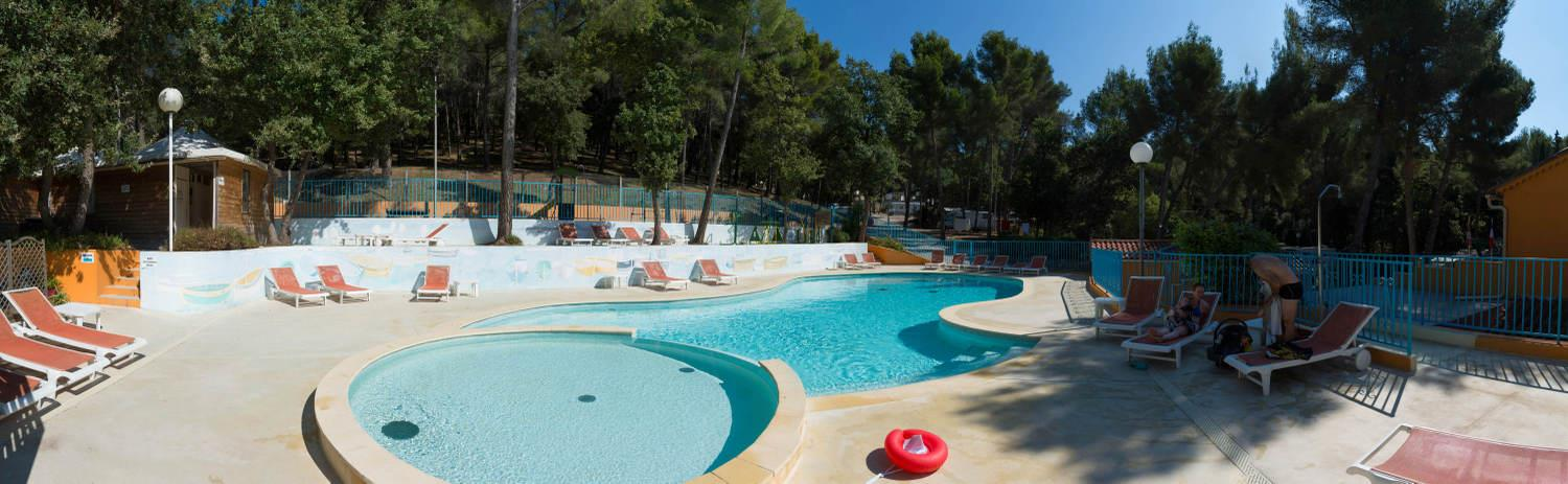 Zwemplezier Camping Les Playes - SIX FOURS LES PLAGES