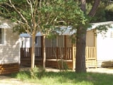 Rental - MOBIL HOME N°114 2 ROOMS - Camping La Beaumette 3 ETOILES