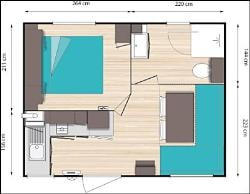 MOBIL HOME 1 BEDROOM