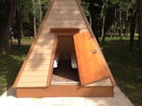Pitch - TIPI N°02 with electricity - Camping La Beaumette 3 ETOILES