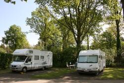 Verharde camperplaats