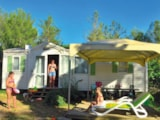 Rental - Cottage  (2 bedrooms)** - Camping Sandaya Le Plein Air des Chênes