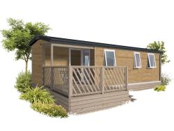 Location - Mobil Home Loggia 3 Ch - Camping des Neiges