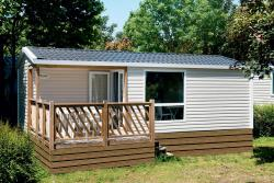 Location - Mobil Home Loggia - Camping des Neiges