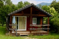 Huuraccommodatie - Chalet Alpes - Huttopia Lac d'Aiguebelette