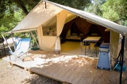 Huuraccommodatie - Bungalowtent Classic Iv - Huttopia Lac d'Aiguebelette