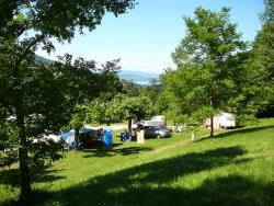 Emplacement - Emplacement camping 100m² - Camping Le Crêtoux