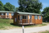 Rental - Chalet Mobile Home Pacifique 1 - Camping du Col