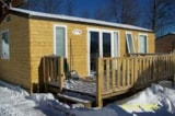 Rental - Chalet Mobile Home O'tiny L'édelweiss - Camping du Col