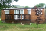 Rental - Chalet Mobile Home O Tiny Les Myrtilles - Camping du Col