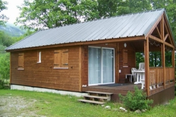 Accommodation - Chalet Prestige 35 M² - Camping du Col