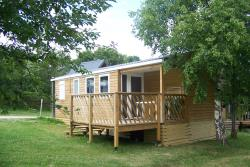 Accommodation - Chalet Mobile Home Loggia 3 6 Personnes - Camping du Col