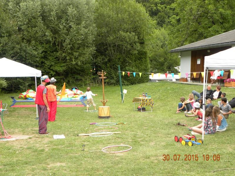 Entertainment organised Camping LA PIAT - Brides les Bains