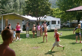 Entertainment organised Camping Covelo - Iseo