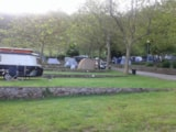 Pitch - Pitch with caravan / trailer tent - Camping Las Hortensias