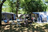 Pitch - Pitch + car + tent or caravan - Camping Les Plans