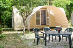 Equipped Tent Coco Sweet 2 Rooms