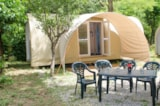 Rental - Equipped Tent Coco Sweet 2 Rooms - Camping Les Plans