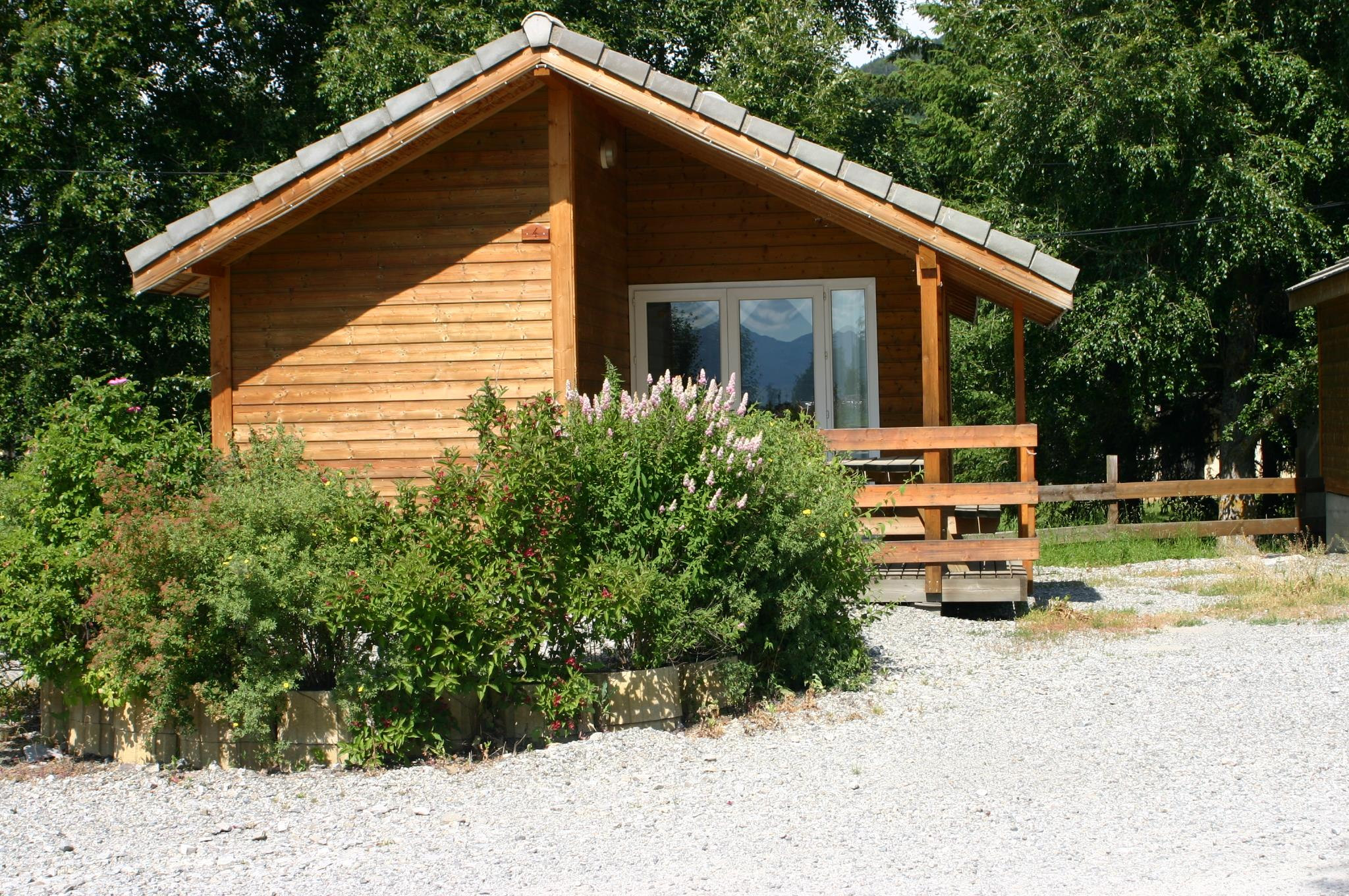 Locatifs - Chalet 2 Chambres - Camping La Pause