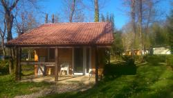 Accommodation - Chalet With 2 Rooms 28 M² - Camping Relais du Léman