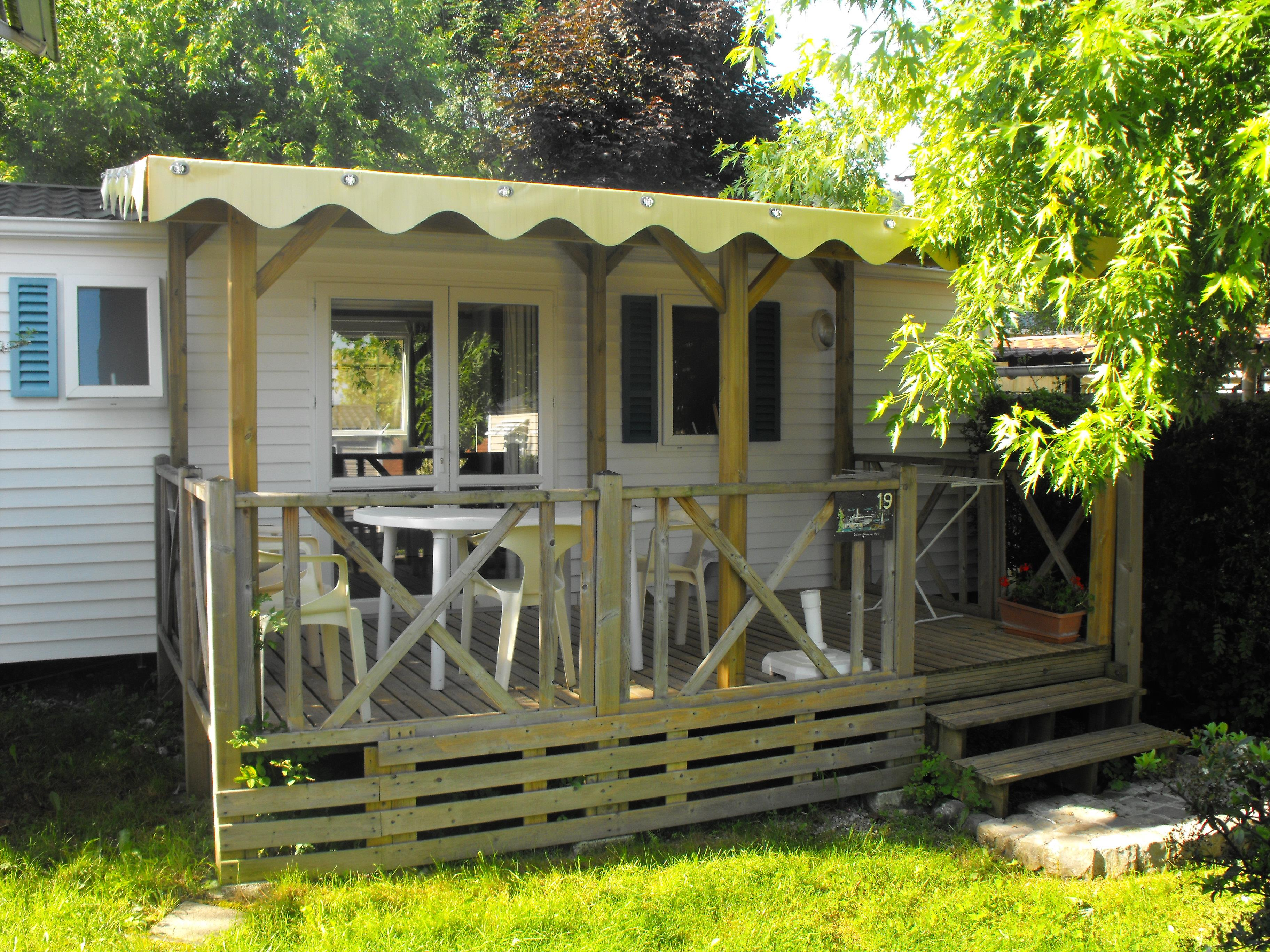 Location - Mobilhome Ohara (2 Chambres) 30M² - Camping Vieille Église