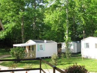 Mobil-Home Super Astria B (Half Shaded), Per Week Or Overnight Stays