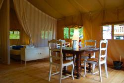 Huuraccommodaties - Tent Safari Grand Confort - Camping Le Clou