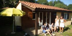 Huuraccommodaties - Chalet Borreze - Camping La Draille