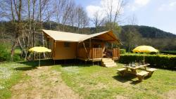 Huuraccommodaties - Lodgetent Brive - Camping La Draille