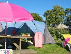 Standard camping pitch 80 m² eletricity included