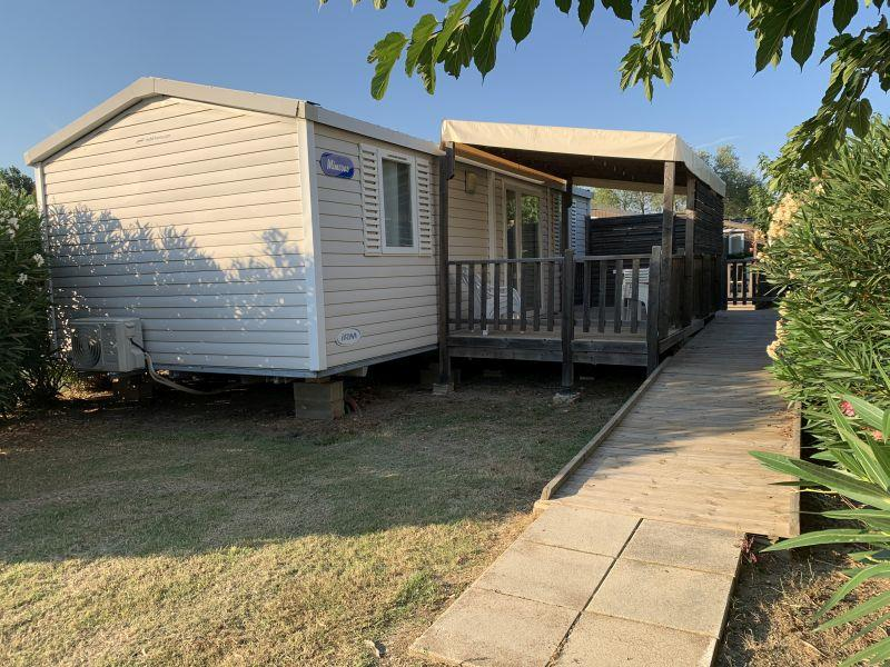Location - Mobil-Home Hélios - Pmr - Chadotel Camping Le Roussillon
