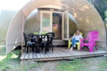 Locatifs - Coco Sweet 2 chambres - Camping Le Haras