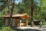 Pitch - Package comfort pitch  private bathroom - Camping L'Hirondelle