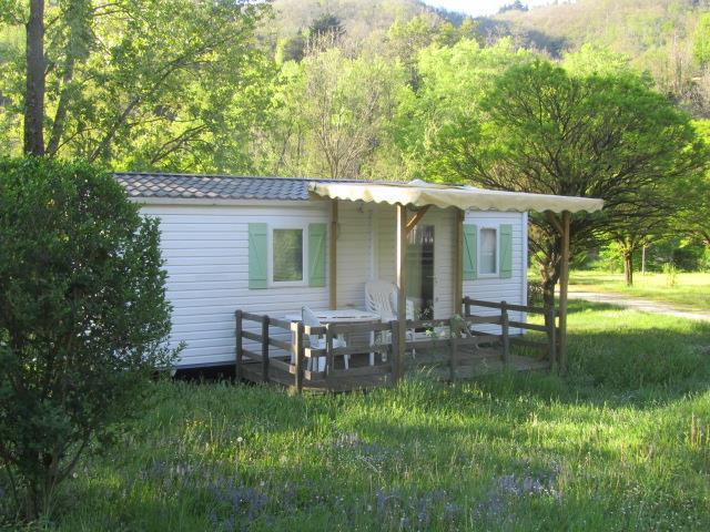 Rental - Mobile Home Irm 28M² Terrace/2 Bedrooms - Camping Le Ventadour