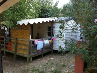 Mobilhome le Lavandou - sheltered terrace 10m² (air-conditioning)