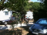 Rental - Mobilhome le Pellegrin - sheltered terrace 10m² Max 2 adults - Camping Lou Cabasson