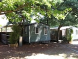 Rental - Mobile home l'Estagnol - sheltered terrace Max 2 adults - Camping Lou Cabasson