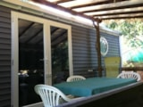 Rental - Mobilhome le Cabasson Supérieur - sheltered terrace 10m² Max 4 adults - Camping Lou Cabasson