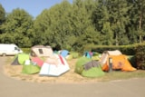 Pitch - Pitch Trekking Package By Foot Or By Bike With Tent - Camping du Vieux Moulin