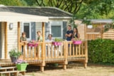 Rental - Mobile-Home Elite - 3 Bedrooms - Camping du Vieux Moulin
