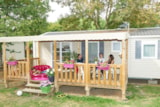Rental - Mobile-Home Elite Lodge - Camping du Vieux Moulin