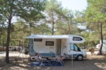 Standplaats - Pitch package confort  120m² + electricity included (1 to 6 people) - Camping La Farigoulette