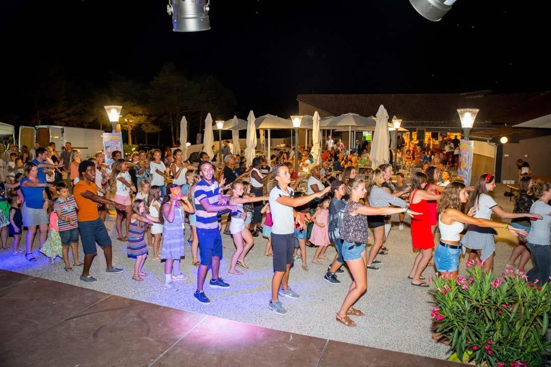 Entertainment organised Camping La Farigoulette - St Laurent du Verdon