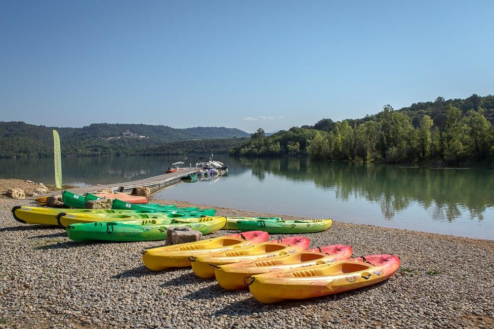 Beaches Camping La Farigoulette - St Laurent du Verdon