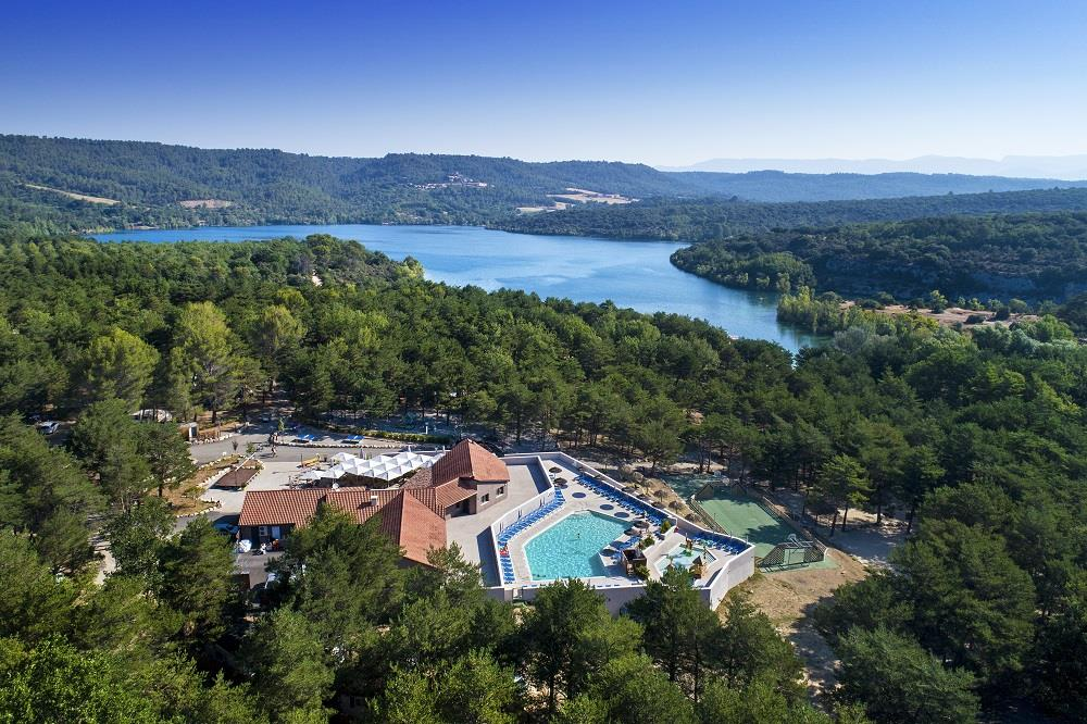 Establishment Camping La Farigoulette - St Laurent du Verdon