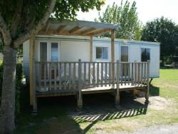 Mobil-Home Hoedic 25.5M² (1999) + Half-Covered Terrace 11M²